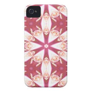 ルビー色及びこはく色の雪片 Case-Mate iPhone 4 ケース
