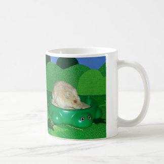ルビー色愛彼女の砂場 コーヒーマグカップ
