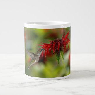 ルビーThroatedハチドリのArchilochus Colubris ジャンボコーヒーマグカップ