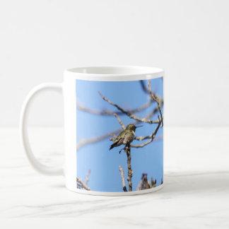 ルビーthroatedハチドリ コーヒーマグカップ