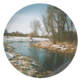 ルブリン、ポーランドの川 プレート
