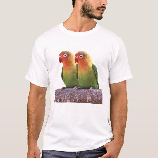 ルリゴシボタンインコ 2 Tシャツ