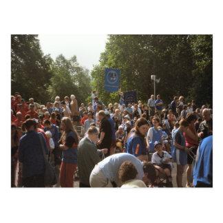 ルルド、巡礼者および訪問者 ポストカード