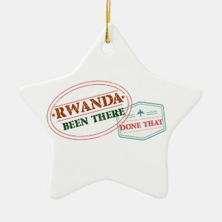 ルワンダそこにそれされる セラミックオーナメント