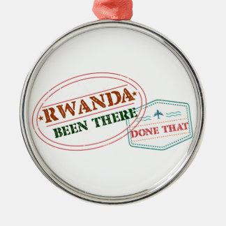 ルワンダそこにそれされる メタルオーナメント