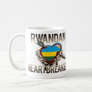 ルワンダのハートブレーカー コーヒーマグカップ