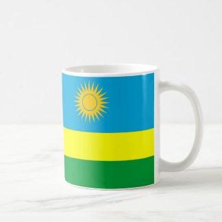 ルワンダの国旗の国家の記号 コーヒーマグカップ