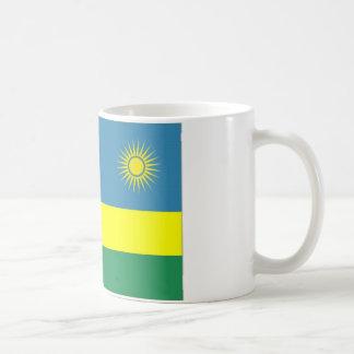 ルワンダの国旗 コーヒーマグカップ