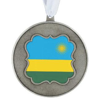 ルワンダの旗 オーナメント
