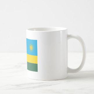 ルワンダの旗 コーヒーマグカップ