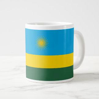 ルワンダの旗 ジャンボコーヒーマグカップ