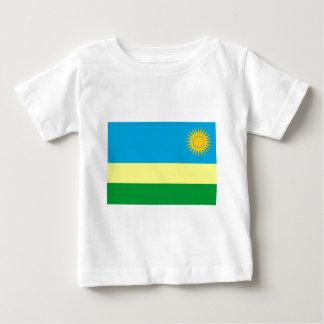 ルワンダの旗 ベビーTシャツ
