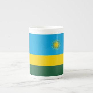 ルワンダの旗 ボーンチャイナカップ