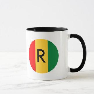 ルワンダの旗 マグカップ