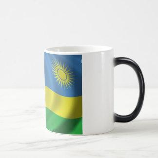 ルワンダの旗 モーフィングマグカップ