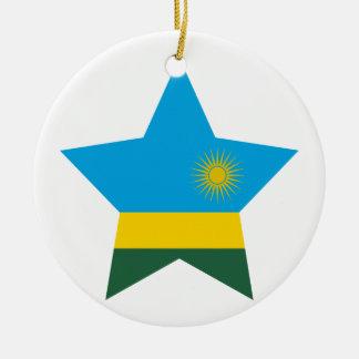ルワンダの星 セラミックオーナメント