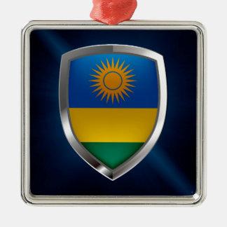 ルワンダの金属紋章 メタルオーナメント