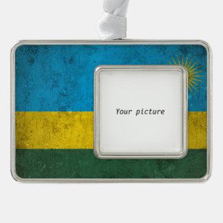ルワンダ シルバープレートフレームオーナメント