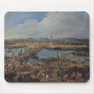 ルーアンの眺めはからの、c.1715-20聖者断絶します マウスパッド