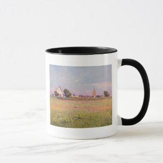 ルーアンの近くの村 マグカップ