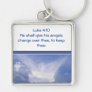 ルークの4:10、あなたの勇気付けられる上の天使の腕時計 キーホルダー