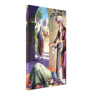 ルークの7:40 - 50許すキャンバスについての物語 キャンバスプリント