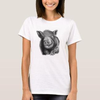 ルーシー驚異のブタ Tシャツ