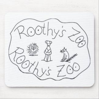 ルースI. Rubin著ROOTHYの動物園3の友人 マウスパッド