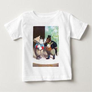 ルーズベルトはボードビルのステージに関係します ベビーTシャツ