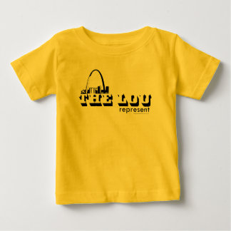 ルーセントルイスは表します ベビーTシャツ