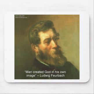 ルートビッヒFeurbach及び人によって作成される神の引用文 マウスパッド
