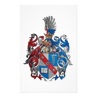 ルートヴィヒ・フォン・ミーゼス家族の紋章付き外衣 便箋