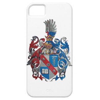 ルートヴィヒ・フォン・ミーゼス家族の紋章付き外衣 iPhone SE/5/5s ケース