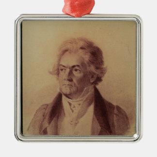 ルートヴィヒ・ヴァン・ベートーヴェン1824年 メタルオーナメント