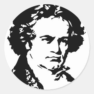 ルートヴィヒ・ヴァン・ベートーヴェン ラウンドシール