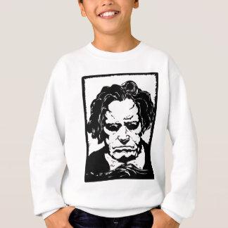 ルートヴィヒ・ヴァン・ベートーヴェン-有名なドイツ作曲家 スウェットシャツ