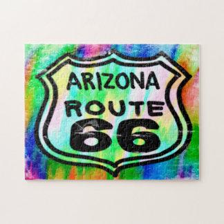 ルート66のアールデコアリゾナ ジグソーパズル