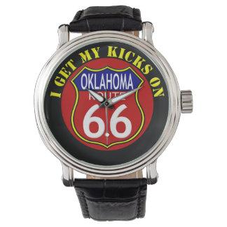 ルート66のオクラホマの腕時計 腕時計