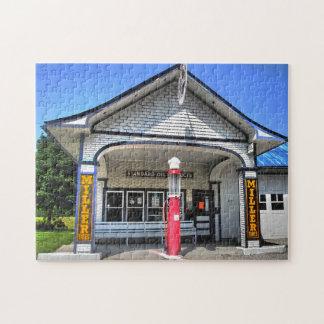 ルート66のガソリンスタンド ジグソーパズル