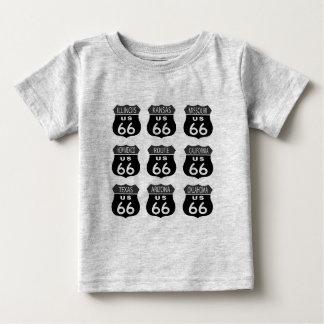 ルート66のシンボルや象徴 ベビーTシャツ