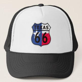 ルート66のテキサス州色 キャップ
