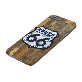 ルート66のナンバープレートの印のiPhone6ケース Barely There iPhone 6 ケース