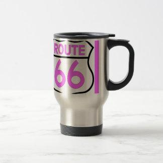 ルート66のピンクはこれをカスタマイズ! トラベルマグ