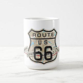 ルート66のマグ2 コーヒーマグカップ