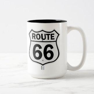 ルート66のマグ ツートーンマグカップ