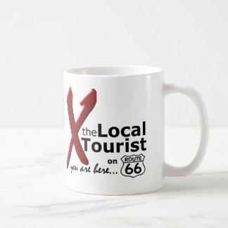 ルート66のローカル観光客 コーヒーマグカップ