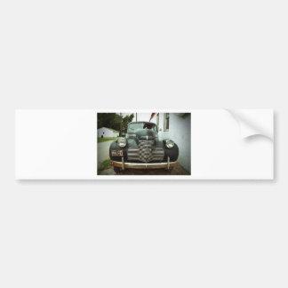 ルート66のヴィンテージ車 バンパーステッカー