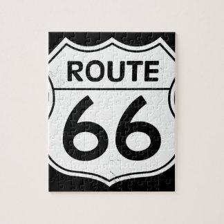 ルート66の印 ジグソーパズル