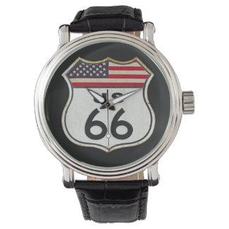 ルート66の時間 腕時計