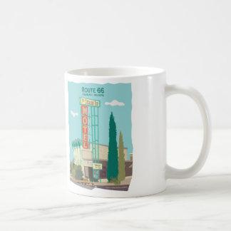 ルート66の果樹園のインのモーテル コーヒーマグカップ